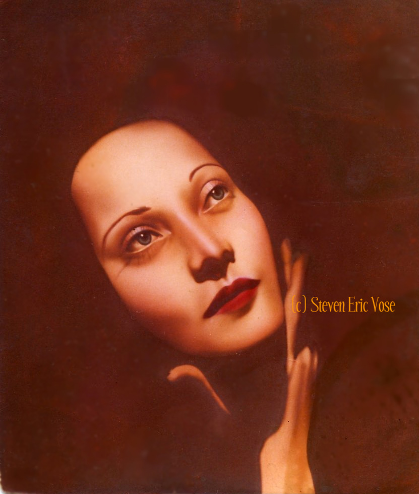"""The Mask"" Merle Oberon"